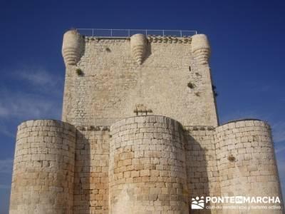 Íscar - Ruta de castillos - Castillos Valladolid - Castillos Segovia - Castillo Iscar; garganta del
